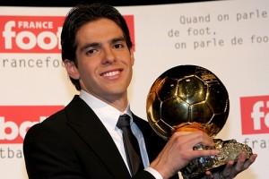 В 2007 году Кака получил «Золотой мяч» как лучший футболист Европы