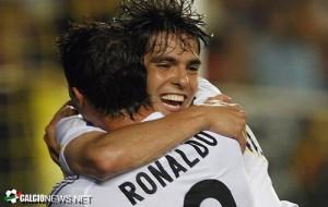 Кака и Роналдо